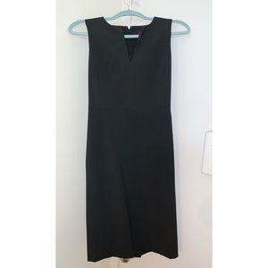 Ann Taylor Black Suit Dress